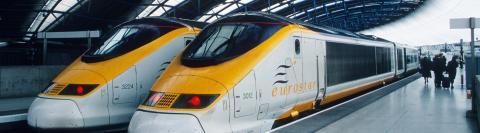 Trein in Londen