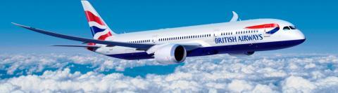 Vliegtuig naar Londen
