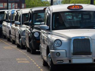Taxi in Londen
