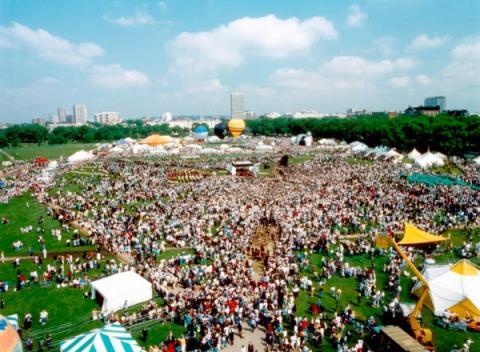 Hyde Park festival in Londen