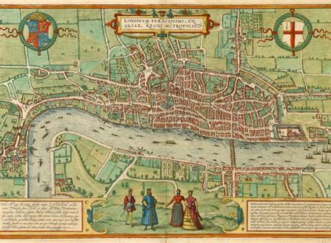 De geschiedenis van Londen