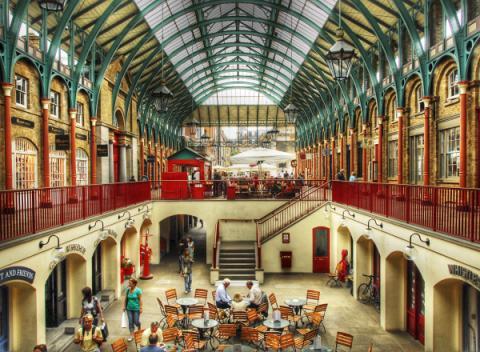 Shoppen in Londen