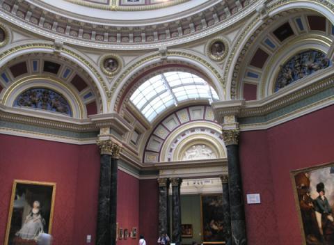 National Gallery van binnen